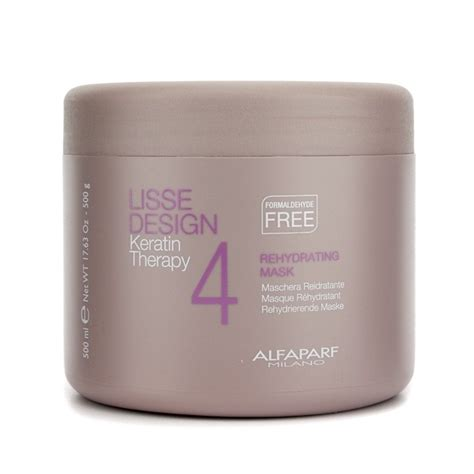 NEW AlfaParf Lisse Design Keratin Therapy Rehydrating Mask