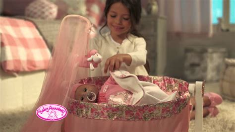 Smyths Toys - Baby Annabell Rocking Cradle - YouTube