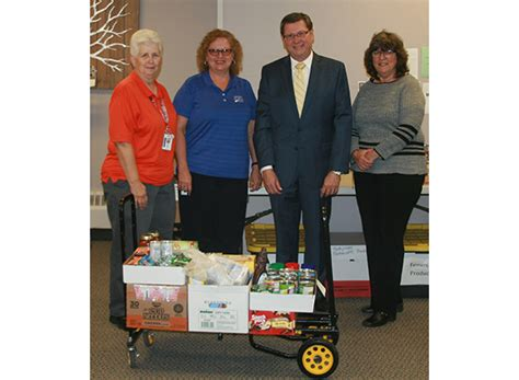 Thank you! Hawks' Nest food drive nets 572 pounds of food