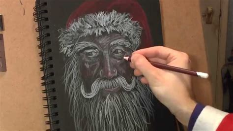 How To Draw Santa Claus (Real Time) - YouTube