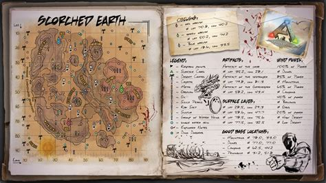 ARK: Survival Evolved – Detailed Official Maps Guide : MGW