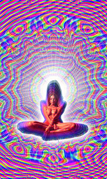 Trippy animated GIFs in honor of Timothy Leary's birthday