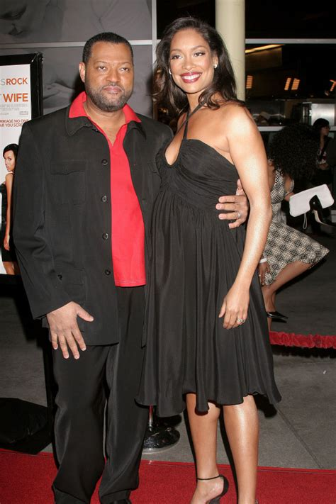 10 Things You Never Knew About Laurence Fishburne And Gina