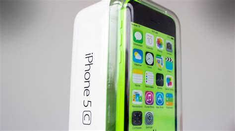 iPhone 5C Green - Unboxing and First Look - YouTube