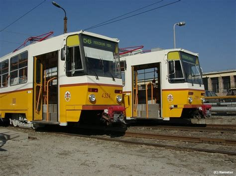 HamPage: Tram-hikers' guide to Budapest - Rolling stock