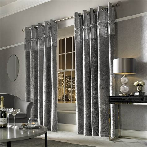 Buy Kylie Minogue at Home Veda Lined Eyelet Curtains