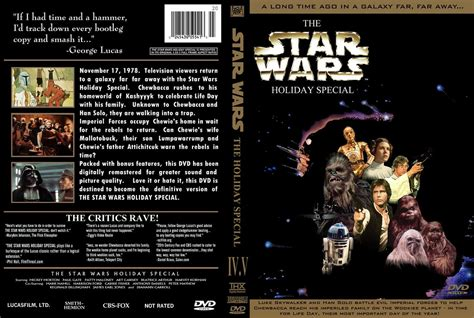 Star Wars Holiday Special DVD Cover | Though created by me