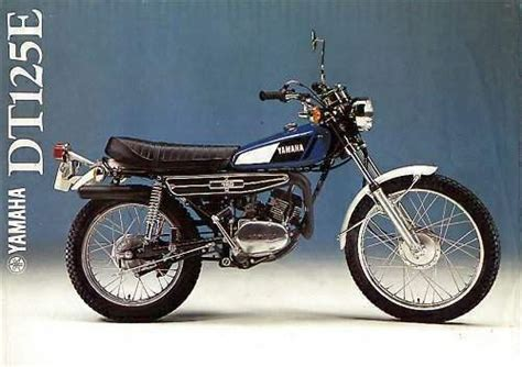 Review of Yamaha DT 125 E 1974: pictures, live photos