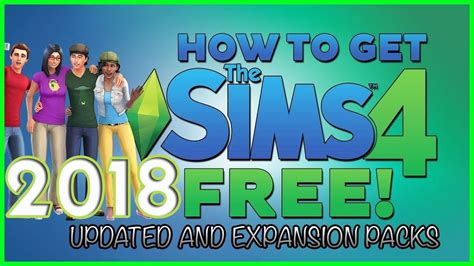 How to Download Sims 4 FREE ALL DLC's [PS4/Xbox/PC] [Sims