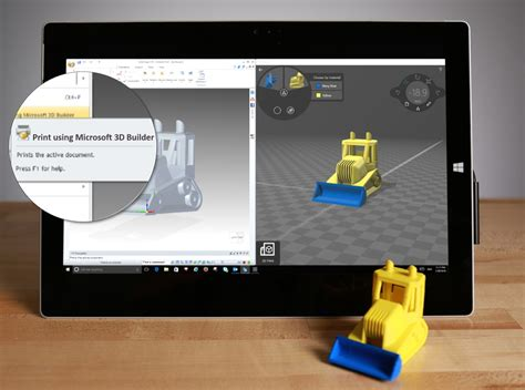 Microsoft 3D Builder App Updated with Problem Fixes