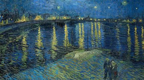 The Starry Night Painting By Vincent Van Gogh UHD 4K
