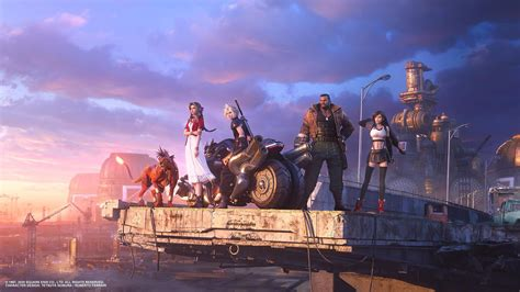 Final Fantasy 7 Remake's New Art Teases an Incredibly