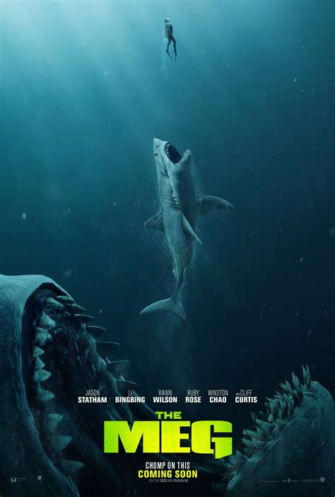 The Meg (2018) Poster 2   Streaming movies, Full movies